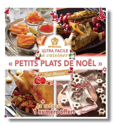 Cuisine ultra facile cuisiner petits plats de no l for Petit plat facile a cuisiner